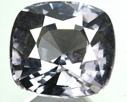 1.93 Cts Natural Silver Grey Spinel Cushion Cut Burmese