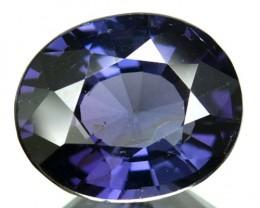 2.32 Cts Natural Deep Blue Spinel Oval Cut Burmese