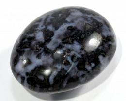 45mm Merlinite Indigo Gabbro Crystal Mineral Pebble Madagascar IGPAA245