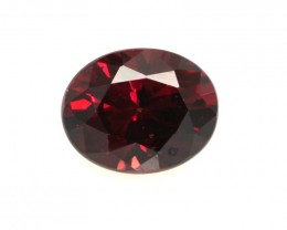 2.57cts Natural Rhodolite Garnet Oval Cut
