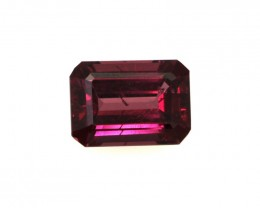 1.55cts Natural Rhodolite Garnet Emerald Cut