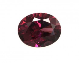2.48cts Natural Rhodolite Garnet Oval Cut