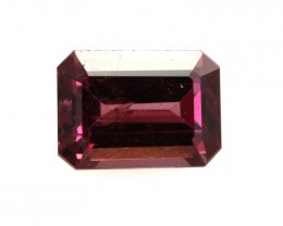 1.67cts Natural Rhodolite Garnet Emerald Cut
