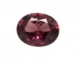 2.29cts Natural Rhodolite Garnet Oval Cut