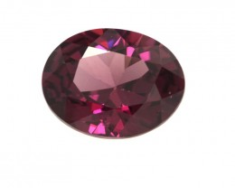 2.37cts Natural Rhodolite Garnet Oval Cut