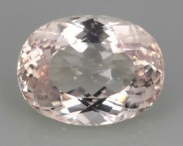 11.40 cts Stunning Pale Pink oval shape beauiful morganite