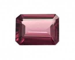 1.16cts Natural Rhodolite Garnet Emerald Cut