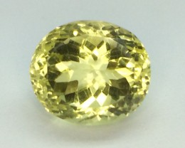 14.40 Crt Natural Lemon Quards Faceted Gemstone (982)