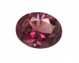 2.11cts Natural Rhodolite Garnet Oval Cut