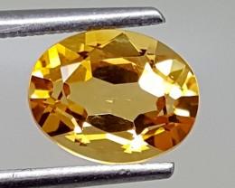1.65Crt Natural Citrine Best Grade Gemstones JI 27