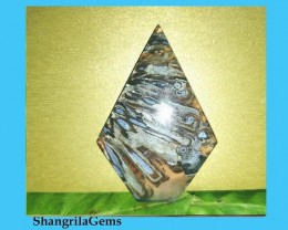 Turkish Stick Agate 57mm  or pseudomorph  Tubular Agate 57 by 35 by 5.5mm 7