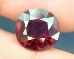 8.20 cts Round  Cut Beautifull Rubellite Tourmaline Gemstone From Afghanist