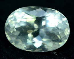 5.55 cts Oval Cut Rare Afghan pollucite Gemstone from afghanistan