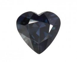 1.27cts Natural Australian Blue Sapphire Heart Shape