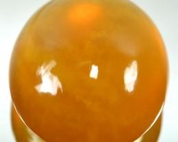 70.70 Cts Natural Mango Yellow Opal Cabochon Mexican Gem