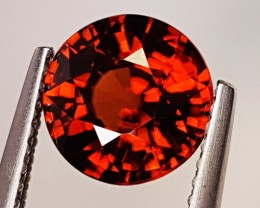 "2.80 ct ""IGI Certified"" Lovely Gem Round Cut Natural Zircon"