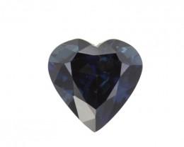 1.64cts Natural Australian Blue Sapphire Heart Shape