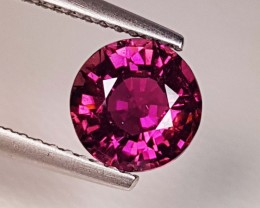 "2.02 ct ""IGI Certified"" Fantastic Gem Round Cut Natural Rubellite"