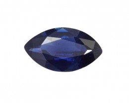 1.62cts Natural Australian Blue Sapphire Marquise Shape