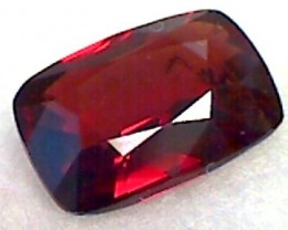 1.25ct Baguette cut CERTIFIED Red Unheated Spinel Burma B241 F84
