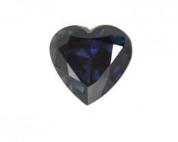 1.48cts Natural Australian Blue Sapphire Heart Shape