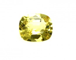 0.24cts Natural Australian Yellow Sapphire Cushion Shape