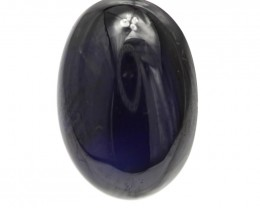 10.01cts Natural Australian Blue Sapphire Oval Cabochon Shape