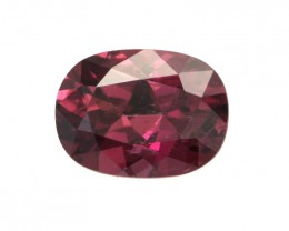 1.54cts Natural Rhodolite Garnet Oval Cut