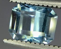 0.95 Crt Aquamarine Faceted Gemstone (R 172)