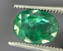2.30 Crt Emerald Zambia Faceted Gemstone (R 172)