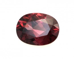 1.43cts Natural Rhodolite Garnet Oval Cut