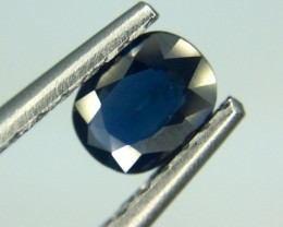 0.66 Crt Natural Sapphire Unheated Faceted Gemstone (983)