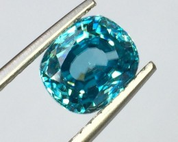 5.03 Crt Natural Zircon Faceted Gemstone (983)