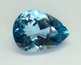 29.48 Crt Natural Topaz Facetted Gemstone T03