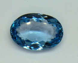27.45 Crt Natural Topaz Facetted Gemstone T10
