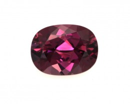 1.85cts Natural Rhodolite Garnet Oval Cut