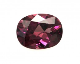 1.91cts Natural Rhodolite Garnet Oval Cut