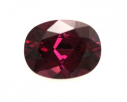 1.96cts Natural Rhodolite Garnet Oval Cut