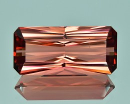 13.16 Cts Fascinating Beautiful Natural Orange Pink Tourmaline