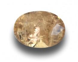 Natural Unheated Pinkish Yellow Sapphire|Loose Gemstone| Sri Lanka