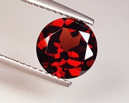 "1.87 ct ""Collector Gem""  Round Cut Natural Pyrope Almandite Garne"