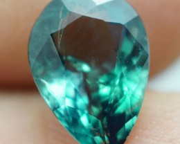 1.38 CT RARE! NATURAL COLOR CHANGE BLUISH GREEN ALEXANDRITE