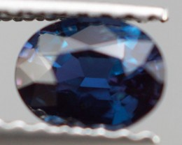 0.56 CT STRONG COLOR CHANGE !! NATURAL DARK BLUISH GREEN ALEXANDRITE
