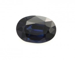 0.92cts Natural Australian Blue Sapphire Oval Shape