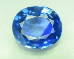Certified 5.19 CT Natural Untreated Blue Sapphire