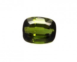 0.75cts Natural Green Tourmaline Cushion Cut
