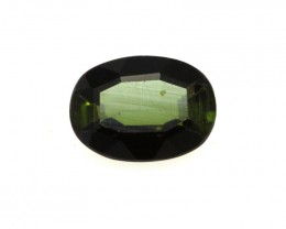 0.58cts Natural Green Tourmaline Oval Cut
