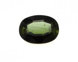 0.58cts Natural Green Tourmaline Oval Cut