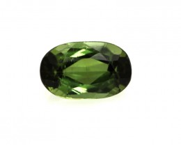 0.55cts Natural Green Tourmaline Oval Cut