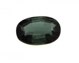 0.49cts Natural Green Tourmaline Oval Cut